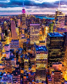 View from Top of the Rock New York City