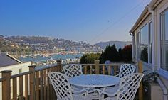Middle Watch, #Dartmouth boasts 180 degree views across the Dart, available from £375,