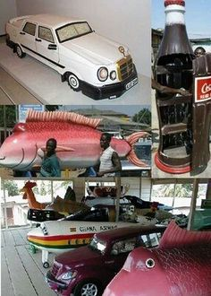 Ga of Ghana coffins that celebrate the life of the individual