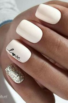 30 ideas which nail polish to choose - My Nails Goth Nails, Pink Nails, My Nails, Bride Nails, Wedding Nails, Rose Wedding, Stylish Nails, Trendy Nails, Nagellack Design