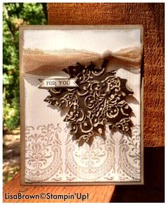 Stampin up masculine card and sneak peek