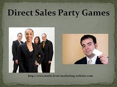 Direct Sales Party Games