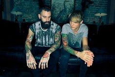 Ricki Hall & Dougie Poynter for Saint Kidd