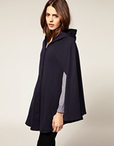 I love a good cape! #american apparel