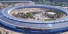 A new month means a new drone flyover video of Apple Park. This drone video comes courtesy of Duncan Sinfield, who has been consistently producing drone flyovers of Apple's new campus since Apple Information, Month Meaning, New Drone, Green Technology, New Month, Apple Products, Mansions, Landscape, Park