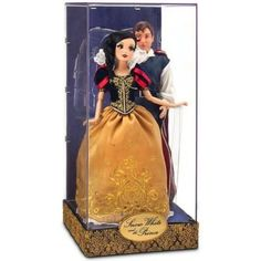 Disney Exclusive Inch Fairytale Designer Collection Doll Set Snow White & The Prince Disney Collector Dolls, Disney Barbie Dolls, Disney Princess Dolls, Rapunzel Barbie, Collection Disney, Designer Collection, Snow White Prince, Snow White Disney, Beautiful Barbie Dolls