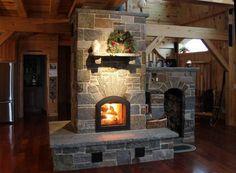 The Masonry Heater Association (MHA) website – Fireplace Ideas 2020 Stove Fireplace, Fireplace Wall, Fireplace Ideas, Foyers, Cabin Design, House Design, Home Rocket, Earth Bag Homes, Outdoor Fireplace Designs