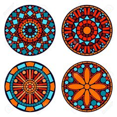 Find Colorful circle floral mandalas set in blue red and orange, vector stock vectors and royalty free photos in HD. Explore millions of stock photos, images, illustrations, and vectors in the Shutterstock creative collection.
