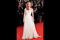 Jessica Chastain Cannes Red Carpet Fashion