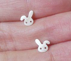 Mini Bunny Rabbit Earrings