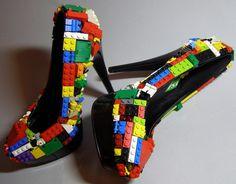 Lego shoes by YoSoyJuanita, http://www.facebook.com/yosoyjuanita