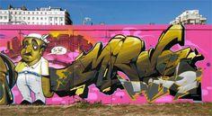 Grafitti Art by Miedo.