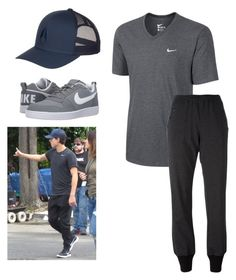 """Tom Holland inspired outfit"" by tmissbaby on Polyvore featuring Nixon, NIKE and Y-3"