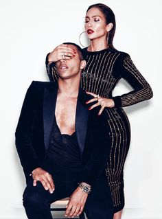 Jennifer Lopez & Olivier Rousteing Team Up for Paper Shoot by Nicolas Moore