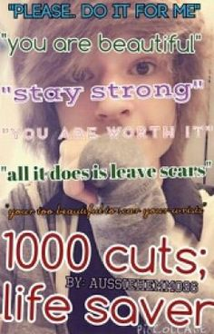 "Read ""1000 Cuts; Life Saver ~Kyle David Hall - Chapter 1"" #wattpad #romance"