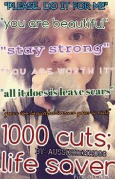 "Read ""1000 Cuts; Life Saver ~Kyle David Hall - Chapter 1"" #wattpad #romance"