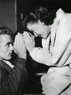 James Dean & Natalie Wood (Rebel without a Cause, 1955)