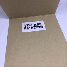 You are amazing! (GRACIELASLIFE)