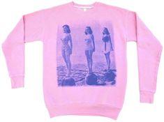 Sydney California graphic crew neck sweatshirt