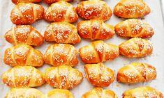 Φανταστικά τυροπιτάκια κρουασανάκια .. Πεντανόστιμο αποτέλεσμα και εγγυημένα τραγανά Pretzel Bites, Bread, Food, Brot, Essen, Baking, Meals, Breads, Buns
