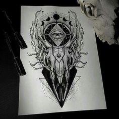 Ideas tattoo ideas for guys side design Skull Tattoos, Leg Tattoos, Body Art Tattoos, Sleeve Tattoos, Female Tattoos, Music Tattoos, Trendy Tattoos, Unique Tattoos, Tattoos For Guys