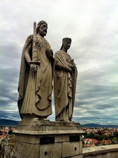 Statue of Szent István and Queen Gisela, Hungary | Flickr - Photo Sharing!