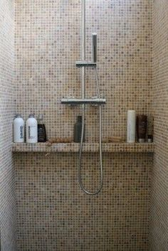 Useful Walk-in Shower Design Ideas For Smaller Bathrooms – Home Dcorz Bathroom Toilets, Bathroom Renos, Bathroom Renovations, Bathroom Interior, Small Bathroom, Master Bathroom, Mosaic Bathroom, Bad Inspiration, Bathroom Inspiration