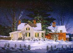 Женские штучки: Твой маленький уютный домик... Художник Fred Swan.