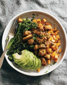 eat clean sweet potato bowl