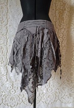Viktorianischer Steampunk, Steampunk Skirt, Steampunk Cosplay, Pixie Outfit, Festival Wear, Festival Outfits, Gypsy Style, Bohemian Style, Handmade Skirts