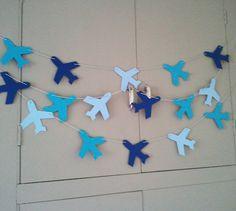 Slinger van vliegtuigen.