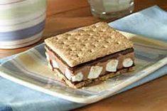 S'more Ice Cream Treats Recipe