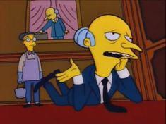 Mr Burns in love Simpson Wave, Bart Simpson, Steven Universe, Goat Cartoon, Le Vent Se Leve, Simpsons Cartoon, Movie Characters, Fictional Characters, Futurama