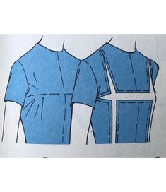 (Posted for image reference only. Dress Sewing Patterns, Clothing Patterns, Pattern Draping, Sewing Alterations, Modelista, Sewing Lessons, Pattern Cutting, Fashion Sewing, Sewing Techniques