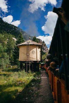 View from the Durango & Silverton Narrow Gauge Railroad