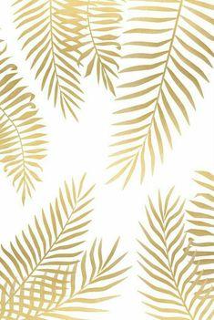 Gold palm leaves art print leaves wallpaper iphone, gold wallpaper phone, i Leaf Prints, Framed Art Prints, Canvas Prints, Canvas Art, Cute Wallpapers, Wallpaper Backgrounds, Tree Wallpaper, Iphone Backgrounds, Summer Backgrounds