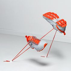 Running trainers with rubber loops on the soles win Swiss design prize