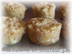 Muffins Saint Nectaire
