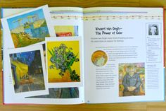 art cards from Dover