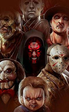 Clown Horror, Funny Horror, Arte Horror, Halloween Horror, Halloween Art, Horror Posters, Horror Icons, Horror Movie Characters, Horror Movies