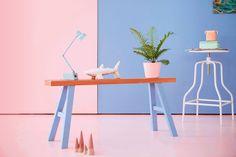 As cores de 2016 escolhida pela Pantone - rose Quartz e serenity. Sabe o motivo?…
