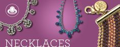 Ranging from delicate to daring, these necklaces give you plenty of options for amping up your look. Make a statement. Make it yours.    https://myfashions.graceadele.us/GraceAdele/Buy/Collection/921#