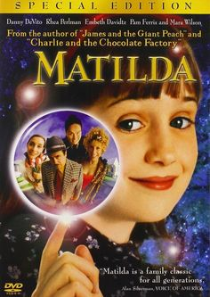 Matilda film) directed by Danny DeVito. Matilda Wormwood is a genius but her parents ignore her. She goes to school and has a lot of adventures there. This film is for all generations. Comedy Movies, Scary Movies, Great Movies, Madea Movies, Indie Movies, Madea Halloween, Best Halloween Movies, Iconic Movies, Classic Movies