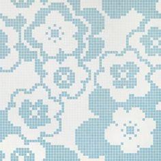 #Bisazza #Decori 2x2 cm Garden Blue   Feinsteinzeug   im Angebot auf #bad39.de 464 Euro/Pckg.   #Mosaik #Bad #Küche
