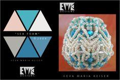 "Eva Maria Keiser Designs: Keiser Designs Colorways: ""Sea Foam"" | 2009"