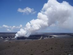 Halemaumau Crater - home of Pele; Big Island of Hawai'i