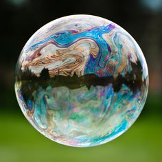 Global bubble! This is MY brothers art! I am so proud of you Brian! WOW its really cool!