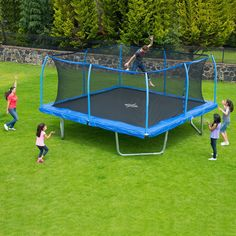 Buy 15' Square Trampoline and SteelFlex Safety Enclosure : Trampolines at SamsClub.com