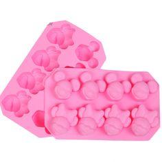 Mickey & Minnie styling fondant moldes bolo sabão molde de chocolate para o cozimento cozinha Ferramentas Do Bolo do Silicone Bakeware E232 em   de   no AliExpress.com | Alibaba Group