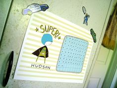 Superboy Chore Chart  //  free printable